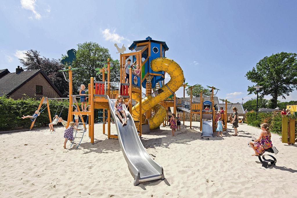 Luxe safarichalet voor 4 personen op park in Voorthuizen Veluwe