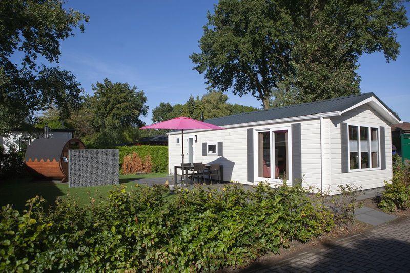 4-persoons chalet met wellness op park in Voorthuizen Veluwe