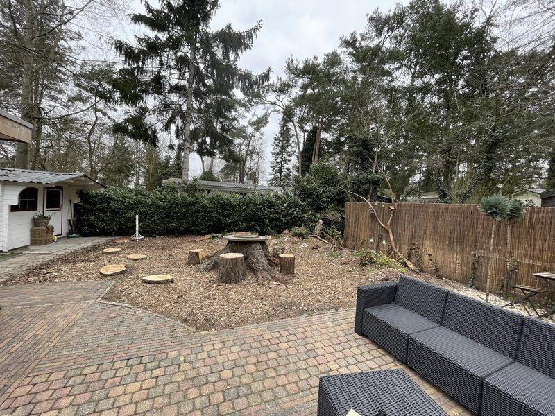 Luxe chalet voor 6 personen op park in Hattemerbroek