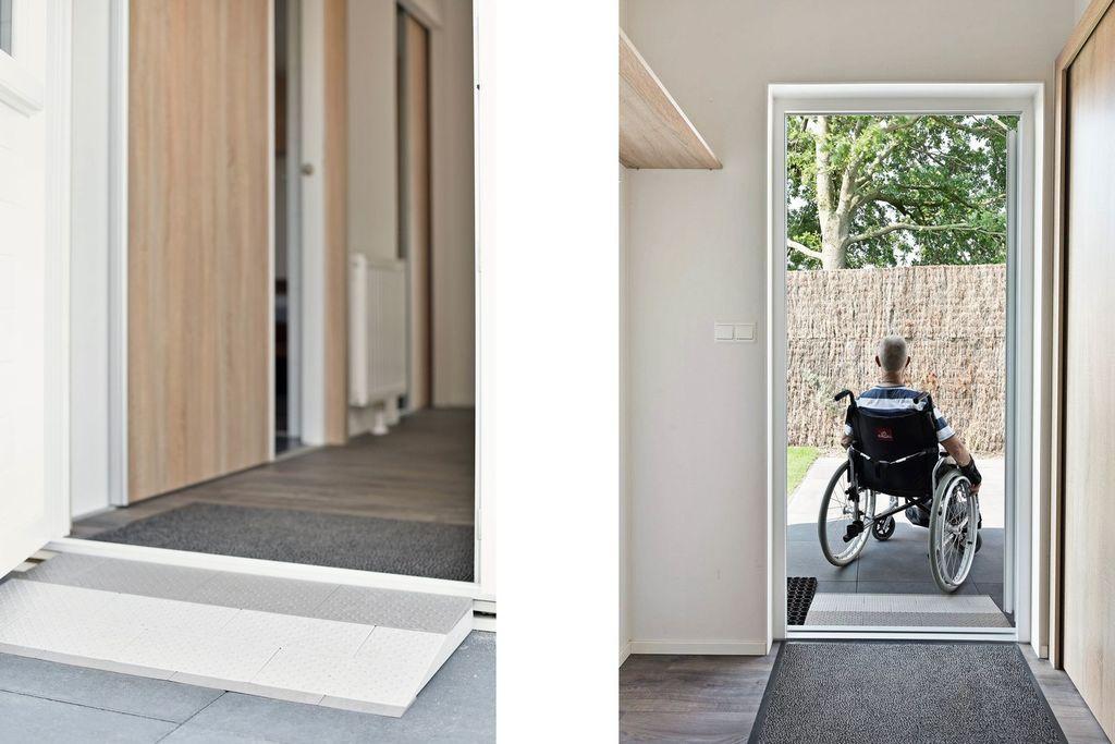 Chalet aangepast voor mindervaliden op park in Nunspeet