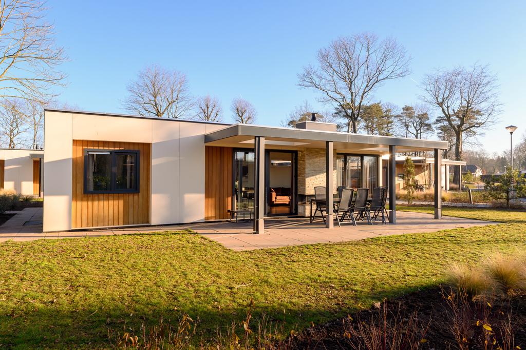 Vakantievilla met sauna voor 6 personen op park Ackersate
